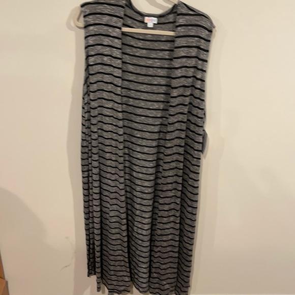Lularoe Joy longline vest size XL